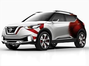 Este es el Nissan Kicks Concept Edición Carnaval de Rio de Janeiro