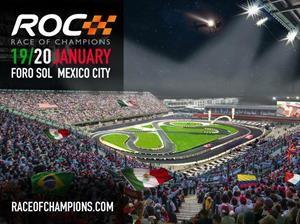 Race Of Champions 2019 tiene como sede la Ciudad de México