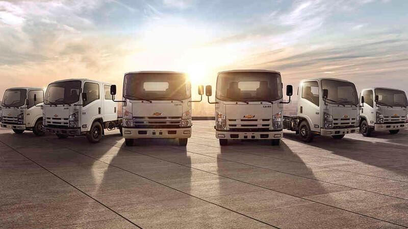 Chevrolet mantiene su liderazgo en la venta de buses y camiones