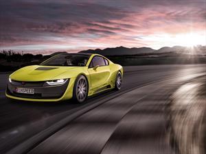 El nuevo Rinspeed Etos Concept es un BMW i8 extravagante