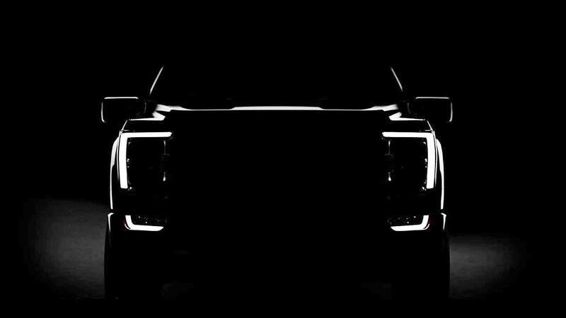 La Ford F-150 2021, nos da un adelanto de su nuevo frontal