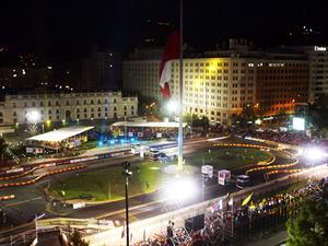 RallyMobil Motorshow frente a La Moneda
