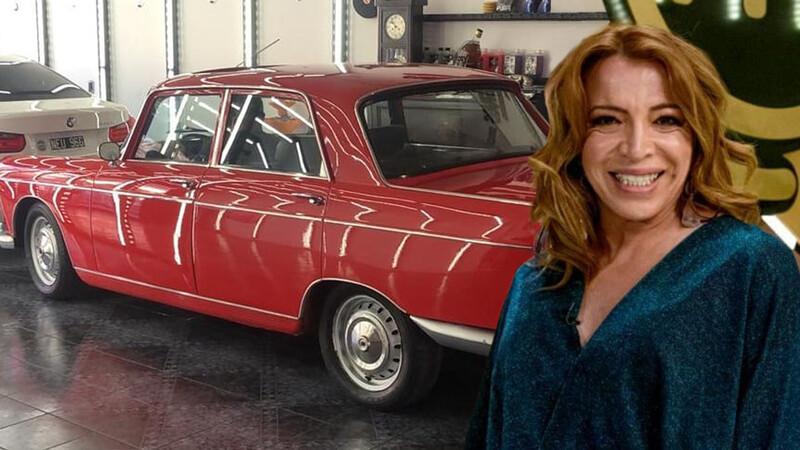 Leona: Lizy Tagliani cumple el sueño de tener su Peugeot 404
