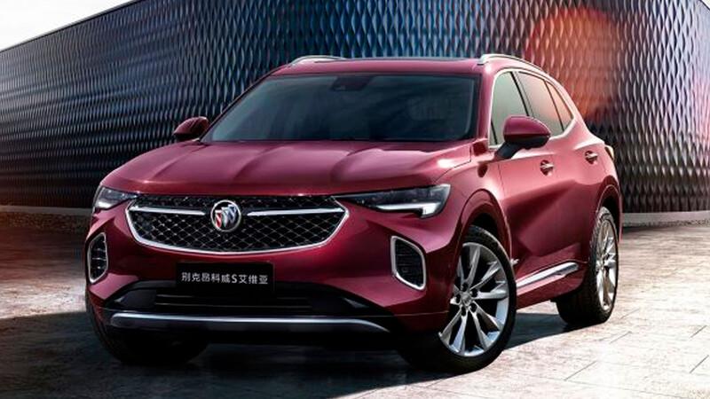 Buick Envision Avenir 2021, lujo de oriente, para la SUV estadounidense