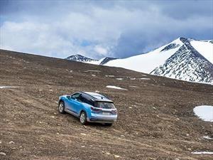 NIO ES8 saca record por la mayor altitud lograda en un vehículo eléctrico