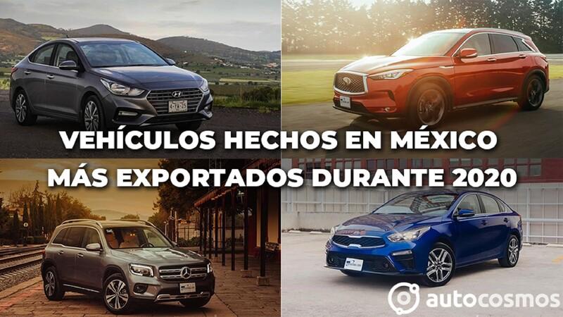 Los autos hechos en México más exportados durante 2020
