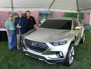 Hyundai Santa Cruz es nombrado el Concept Truck of the Year 2015