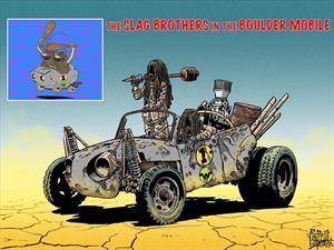 Los Autos Locos son reimaginados al estilo Mad Max
