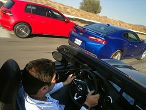 VW Golf GTI vs Chevrolet Camaro vs Mazda MX-5 ¿quién es el mejor?