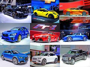 Top 10: Lo mejor del Salón de Detroit 2014
