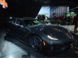 Chevrolet Corvette ZR1 sale a subasta la primera unidad