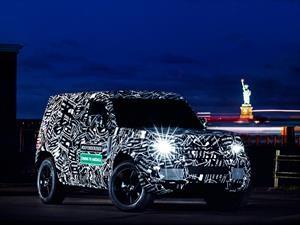 Nueva generación del Land Rover Defender llega en 2019
