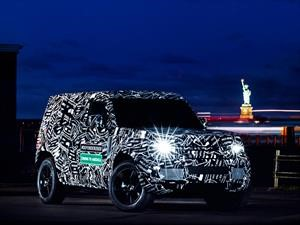 Land Rover Defender, listo para 2019