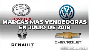 Top 10: las marcas más vendedoras de Argentina en julio de 2019