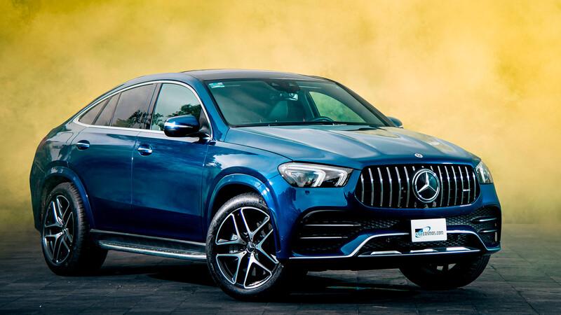 Mercedes-Benz Clase GLE Coupé 2021, narcisista y deportiva por naturaleza