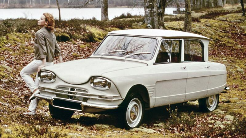 El exéntrico Citroën Ami 6 celebra su 60 aniversario