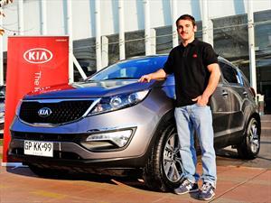 Tomás González y su nuevo modelo Kia
