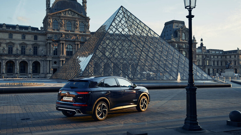 DS Automobiles lanza en Chile el DS 7 Crossback Louvre