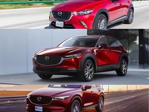 Cuáles son las diferencias del nuevo Mazda CX-30 con el CX-3 y CX-5