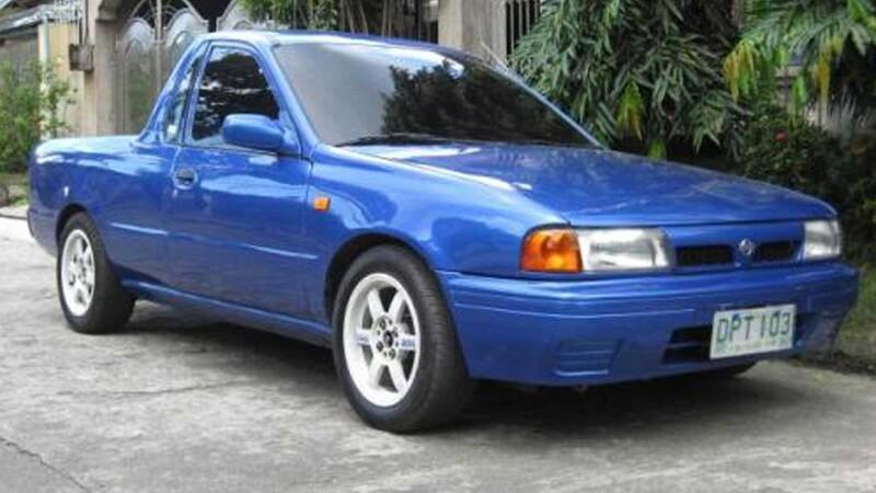 No es broma, en verdad, existió el Nissan Tsuru pickup