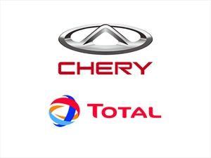 Chery y Total firmaron una alianza