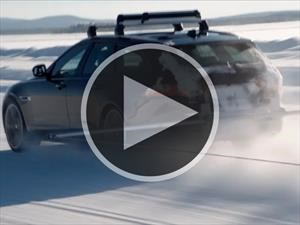 Video: Jaguar XF se queda con un récord en la nieve