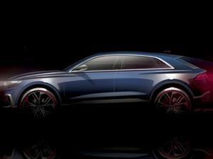 Audi Q8 Concept, los anillos atacan al X6