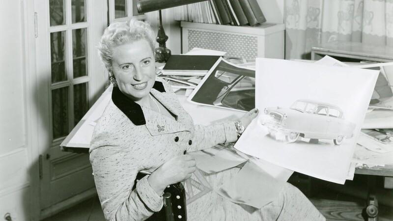 Helene Rother,  la primera mujer en trabajar en el diseño de un automóvil