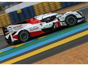 Toyota preparado para las 24 Horas de Le Mans 2016