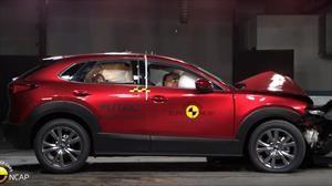 Mazda CX-30 obtiene 5 estrellas en las pruebas de choque de la Euro NCAP