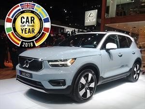 Volvo XC40 es el Car of the Year 2018 en Europa