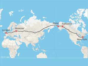 ¿Quieren hacer una ruta que una Londres con Nueva York?
