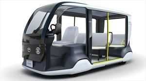 Toyota donará 200 mini buses eléctricos para las Olimpiadas de Tokio 2020