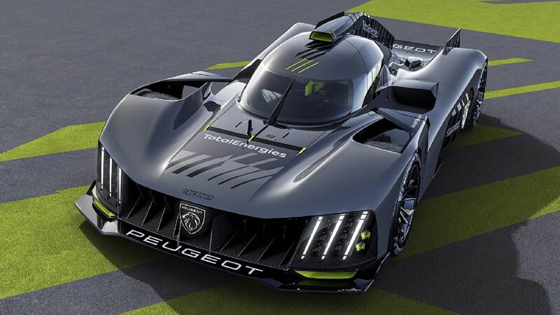 Peugeot 9X8, un radical hypercar para el regreso a Le Mans