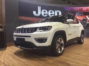 Salón de Sao Paulo 2016: Jeep Compass, la estrella que apunta a Chile