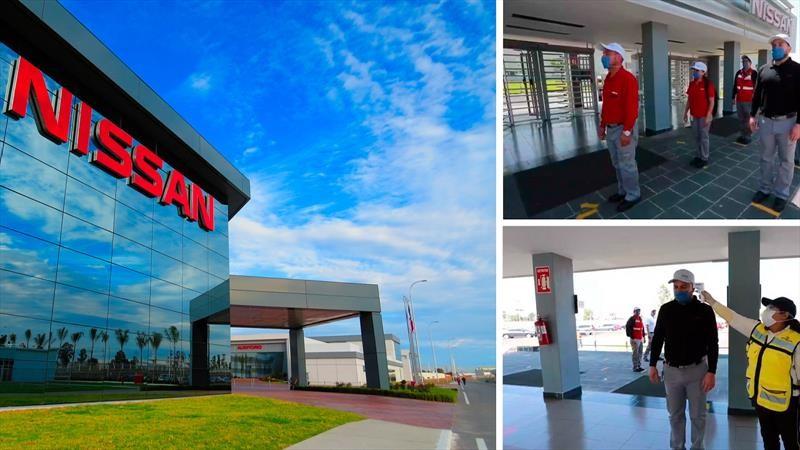 Nissan reanuda gradualmente la producción en sus plantas de México