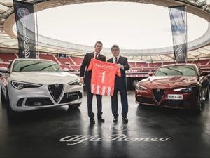 Alfa Romeo Stelvio se convierte en el carro oficial del Atlético de Madrid
