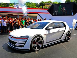 Volkswagen Design Vision GTI: 503 HP de pura dinamita
