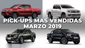 Top 10: Las pick-ups más vendidas de Argentina en marzo de 2019