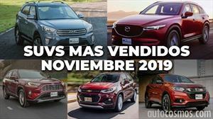 Las 10 camionetas más vendidas en noviembre 2019