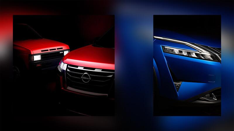 Nissan ya anticipa algunos teaser de la nueva Pathfinder y Qashqai 2022