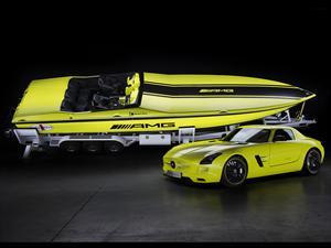La lancha eléctrica más rápida del mundo por Mercedes Benz AMG