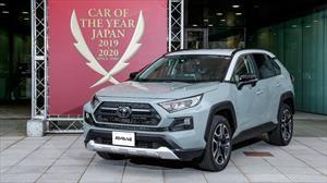 Toyota RAV4 gana como el auto del año 2019-2020 en Japón