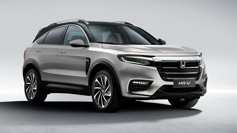 Así sería la próxima generación de Honda HR-V