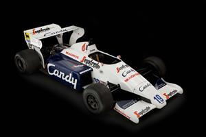 El Toleman F1 de Ayrton Senna a subasta