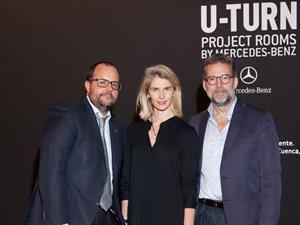 Mercedes-Benz arteBarea con el U-TURN Project Rooms