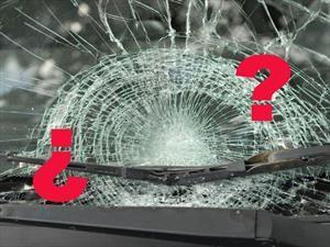 Lo que hacer si se rompe el parabrisas con el auto en movimiento