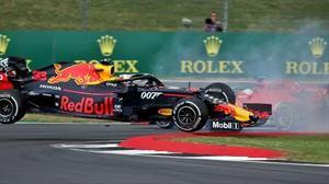 F1 GP de Gran Bretaña 2019: Vettel admitió su culpa en el incidente con Verstappen