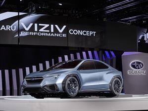 Tokio 2017: Subaru Viziv Performance nos hace soñar con un nuevo WRX