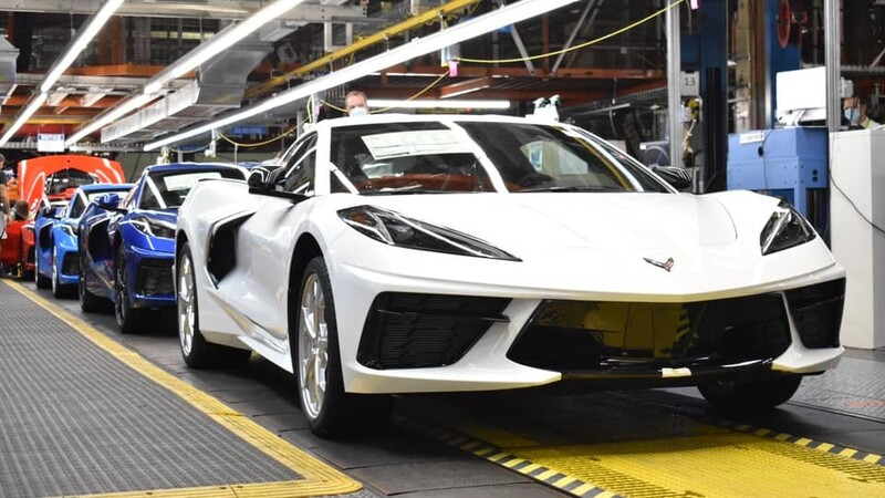 Chevrolet celebra la producción de la unidad 1.750.000  del emblemático Corvette